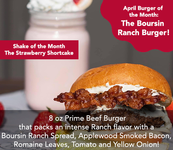 April 2021 burger of the month