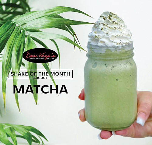 August shake of the month
